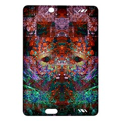 Modern Abstract Geometric Art Rainbow Colors Amazon Kindle Fire HD (2013) Hardshell Case