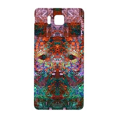 Modern Abstract Geometric Art Rainbow Colors Samsung Galaxy Alpha Hardshell Back Case