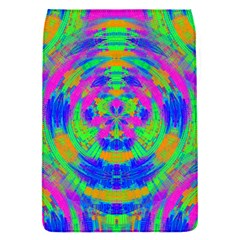 Boho Hippie Retro Psychedlic Neon Rainbow Removable Flap Cover (S)
