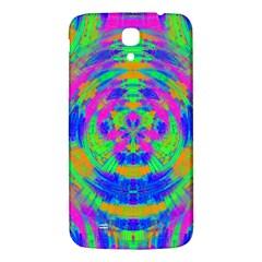 Boho Hippie Retro Psychedlic Neon Rainbow Samsung Galaxy Mega I9200 Hardshell Back Case