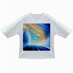Glow Motion Lines Light Infant/Toddler T-Shirts