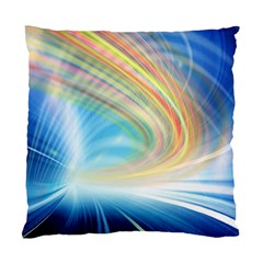 Glow Motion Lines Light Standard Cushion Case (Two Sides)