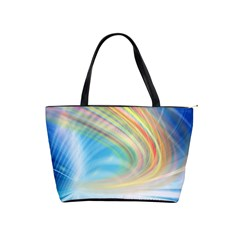 Glow Motion Lines Light Shoulder Handbags