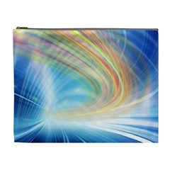 Glow Motion Lines Light Cosmetic Bag (XL)