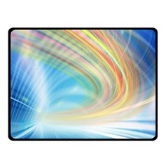 Glow Motion Lines Light Fleece Blanket (Small)