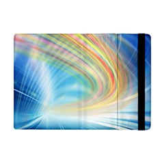 Glow Motion Lines Light Apple Ipad Mini Flip Case