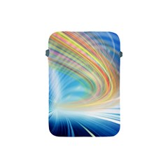 Glow Motion Lines Light Apple iPad Mini Protective Soft Cases