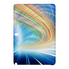 Glow Motion Lines Light Samsung Galaxy Tab Pro 10.1 Hardshell Case
