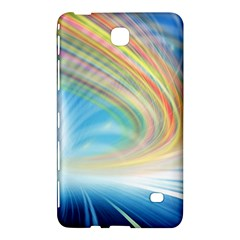 Glow Motion Lines Light Samsung Galaxy Tab 4 (8 ) Hardshell Case
