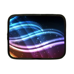 Illustrations Color Purple Blue Circle Space Netbook Case (Small)