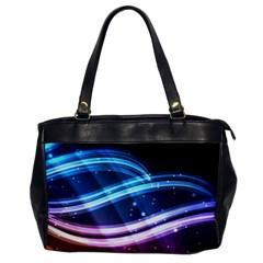 Illustrations Color Purple Blue Circle Space Office Handbags