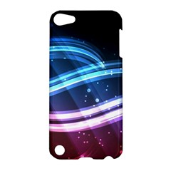 Illustrations Color Purple Blue Circle Space Apple iPod Touch 5 Hardshell Case