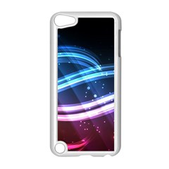 Illustrations Color Purple Blue Circle Space Apple iPod Touch 5 Case (White)