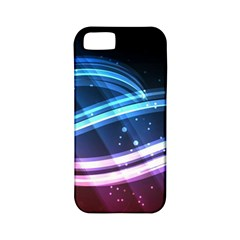 Illustrations Color Purple Blue Circle Space Apple iPhone 5 Classic Hardshell Case (PC+Silicone)