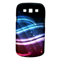 Illustrations Color Purple Blue Circle Space Samsung Galaxy S III Classic Hardshell Case (PC+Silicone)