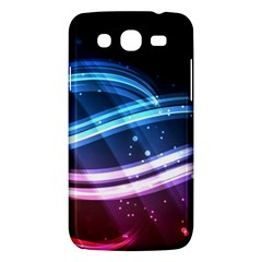 Illustrations Color Purple Blue Circle Space Samsung Galaxy Mega 5.8 I9152 Hardshell Case