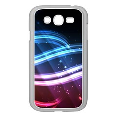 Illustrations Color Purple Blue Circle Space Samsung Galaxy Grand DUOS I9082 Case (White)