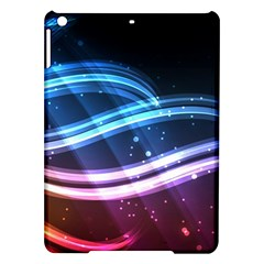 Illustrations Color Purple Blue Circle Space iPad Air Hardshell Cases