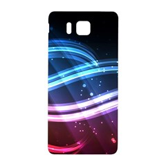 Illustrations Color Purple Blue Circle Space Samsung Galaxy Alpha Hardshell Back Case