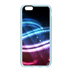 Illustrations Color Purple Blue Circle Space Apple Seamless iPhone 6/6S Case (Color)