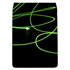 Light Line Green Black Flap Covers (S)