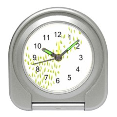 Leaves Leaf Green Fly Landing Travel Alarm Clocks