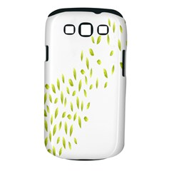 Leaves Leaf Green Fly Landing Samsung Galaxy S III Classic Hardshell Case (PC+Silicone)
