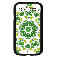 Leaf Green Frame Star Samsung Galaxy Grand DUOS I9082 Case (Black)