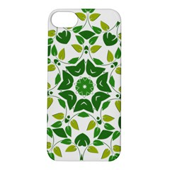Leaf Green Frame Star Apple iPhone 5S/ SE Hardshell Case