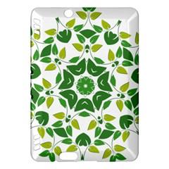 Leaf Green Frame Star Kindle Fire Hdx Hardshell Case