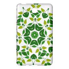 Leaf Green Frame Star Samsung Galaxy Tab 4 (8 ) Hardshell Case