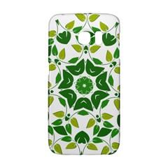 Leaf Green Frame Star Galaxy S6 Edge