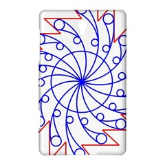 Line  Red Blue Circle Samsung Galaxy Tab S (8.4 ) Hardshell Case
