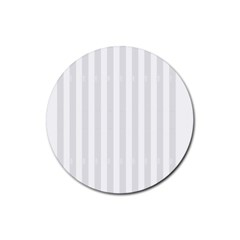 Main Field Football Sport Gray Rubber Round Coaster (4 pack)