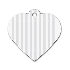 Main Field Football Sport Gray Dog Tag Heart (Two Sides)