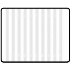 Main Field Football Sport Gray Fleece Blanket (Medium)