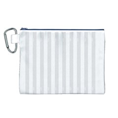Main Field Football Sport Gray Canvas Cosmetic Bag (L)