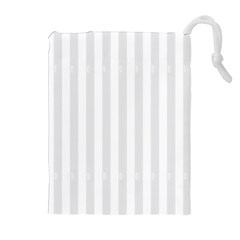 Main Field Football Sport Gray Drawstring Pouches (Extra Large)