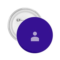 Man Grey Purple Sign 2.25  Buttons