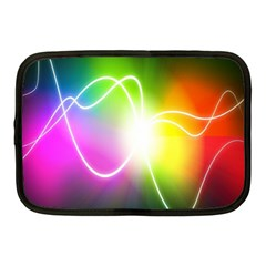 Lines Wavy Ight Color Rainbow Colorful Netbook Case (Medium)