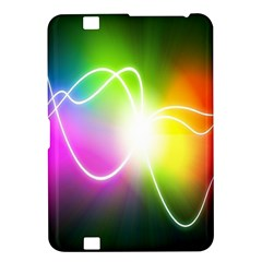 Lines Wavy Ight Color Rainbow Colorful Kindle Fire HD 8.9