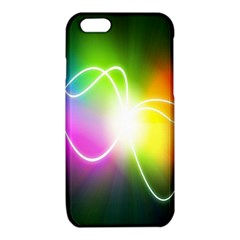 Lines Wavy Ight Color Rainbow Colorful iPhone 6/6S TPU Case