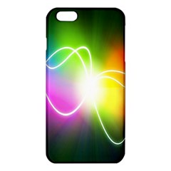 Lines Wavy Ight Color Rainbow Colorful iPhone 6 Plus/6S Plus TPU Case