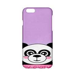 Panda Happy Birthday Pink Face Smile Animals Flower Purple Green Apple iPhone 6/6S Hardshell Case