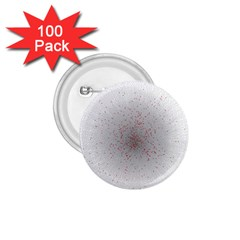 Physical Chemistry Circle Red Grey 1.75  Buttons (100 pack)