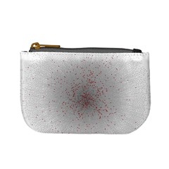 Physical Chemistry Circle Red Grey Mini Coin Purses