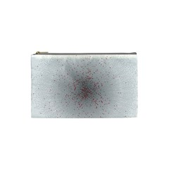 Physical Chemistry Circle Red Grey Cosmetic Bag (Small)