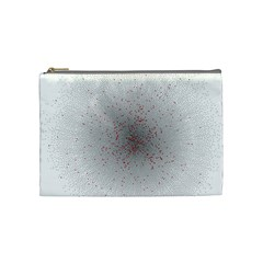 Physical Chemistry Circle Red Grey Cosmetic Bag (Medium)