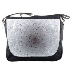 Physical Chemistry Circle Red Grey Messenger Bags
