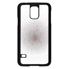 Physical Chemistry Circle Red Grey Samsung Galaxy S5 Case (Black)